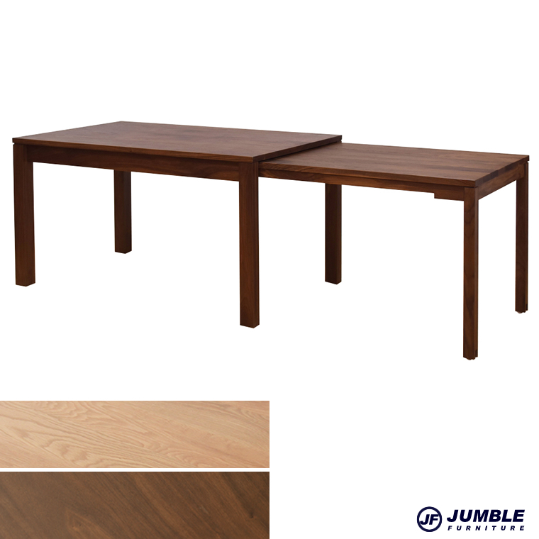スライドテーブル 伸縮テーブル ダイニングテーブル 日本製 フリー テーブル 食卓テーブル 食事テーブル カフェテーブル 木製 食卓 食卓 長方形 伸長式ダイニングテーブル 伸縮 伸長 伸縮式テーブル 伸張式テーブル リビング オシャレ シンプル 無垢