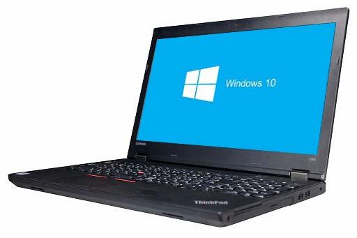 【中古パソコン】【Windows10 64bit搭載】【webカメラ搭載】【テンキー付】【Core i3 6100U搭載】【メモリー4GB搭載】【HDD500GB搭載】【W-LAN搭載】【DVD-ROM搭載】 lenovo ThinkPad L560 (179588)