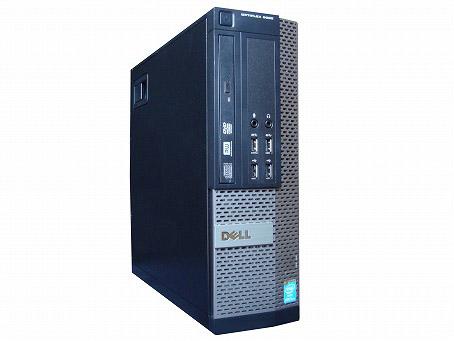 【中古パソコン】【単体】【Windows10 64bit搭載】【Core i3 4160搭載】【メモリー4GB搭載】【HDD500GB搭載】【DVDマルチ搭載】【東久留米発】 DELL OPTIPLEX 7020 SFF (7518864)