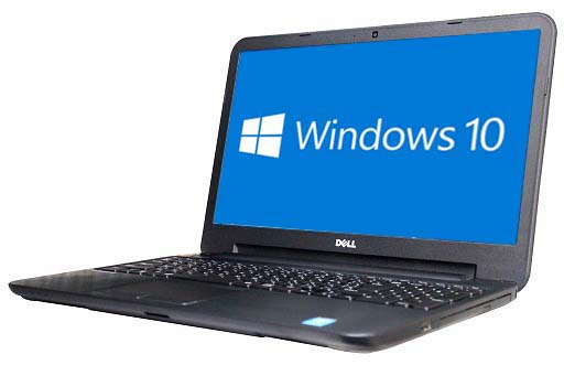 【中古パソコン】【Windows10 64bit搭載】【webカメラ搭載】【テンキー付】【Core i3 4010U搭載】【メモリー4GB搭載】【HDD320GB搭載】【W-LAN搭載】【DVDマルチ搭載】 DELL LATITUDE 3540 (1704582)