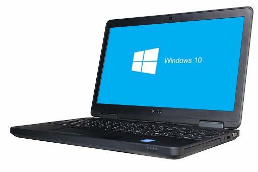 【中古パソコン】【Windows10 64bit搭載】【webカメラ搭載】【HDMI端子搭載】【テンキー付】【Core i3 4030U搭載】【メモリー4GB搭載】【HDD750GB搭載】【W-LAN搭載】【DVDマルチ搭載】 DELL LATITUDE E5540 (1704654)