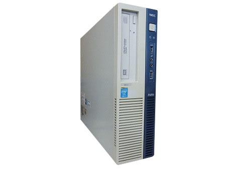 【中古パソコン】【単体】【Windows10 64bit搭載】【Core i5 4570搭載】【メモリー4GB搭載】【HDD500GB搭載】【DVDマルチ搭載】【東久留米発】 NEC Mate MB-H (7519117)