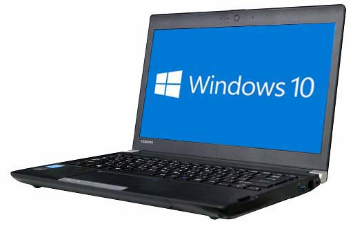 【中古パソコン】♪【Windows10 64bit搭載】【HDMI端子搭載】【Core i3 4000M搭載】【メモリー4GB搭載】【HDD500GB搭載】【W-LAN搭載】 東芝 Dynabook R734/K (169912)