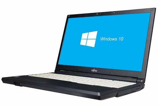 【中古パソコン】【Windows10 64bit搭載】【HDMI端子搭載】【テンキー付】【Core i3 6100U搭載】【メモリー4GB搭載】【HDD320GB搭載】【W-LAN搭載】【DVDマルチ搭載】 富士通 FMV-LIFEBOOK A576/PX (1402998)