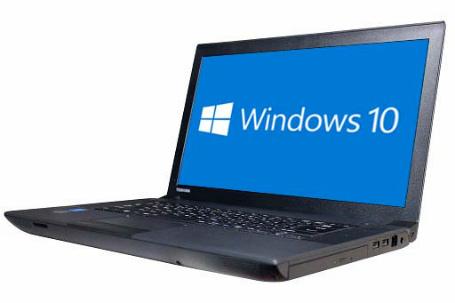 【中古パソコン】☆【Windows10 64bit搭載】【Core i3 4000M搭載】【メモリー4GB搭載】【HDD750GB搭載】【DVDマルチ搭載】【W-LANアダプター付】【下北沢店発】 東芝 dynabook B554/L (4001443)