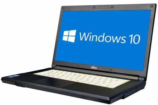【中古パソコン】【Windows10 64bit搭載】【HDMI端子搭載】【Core i3 3120M搭載】【メモリー4GB搭載】【HDD320GB搭載】【W-LAN搭載】【DVD-ROM搭載】 富士通 FMV-LIFEBOOK A573/G (1403031)