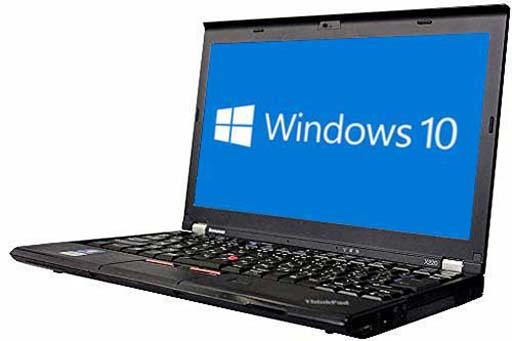 【中古パソコン】☆【Windows10 64bit搭載】【Core i5 3320M搭載】【メモリー4GB搭載】【HDD500GB搭載】【中野店発】 lenovo ThinkPad X230 (2031051)