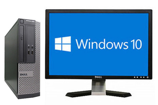 【中古パソコン】【液晶セット】【Windows10 64bit搭載】【Core i3 4130搭載】【メモリー4GB搭載】【HDD500GB搭載】【DVDマルチ搭載】 DELL OPTIPLEX 3020 SFF (1294330)