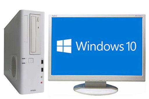【中古パソコン】【液晶セット】【Windows10 64bit搭載】【Core i3 4150搭載】【メモリー4GB搭載】【HDD500GB搭載】 EPSON Endeavor AT992E (1294407)