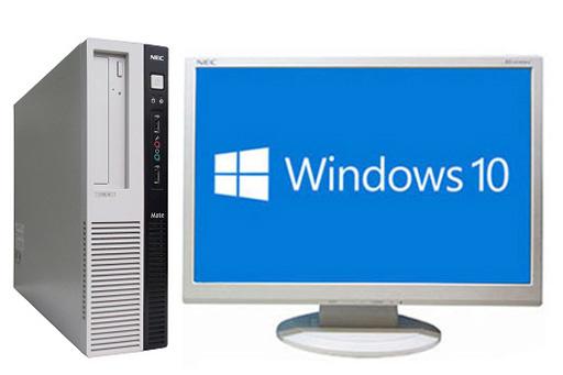 【中古パソコン】【液晶セット】【Windows10 64bit搭載】【Core i3 4150搭載】【メモリー4GB搭載】【HDD500GB搭載】【DVDマルチ搭載】 NEC Mate J ML-J (1294409)