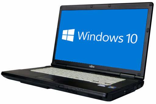 【中古パソコン】【Windows10 64bit搭載】【HDMI端子搭載】【Core i3 3110M搭載】【メモリー4GB搭載】【HDD500GB搭載】【DVDマルチ搭載】 富士通 FMV-LIFEBOOK A572/F (1403131)