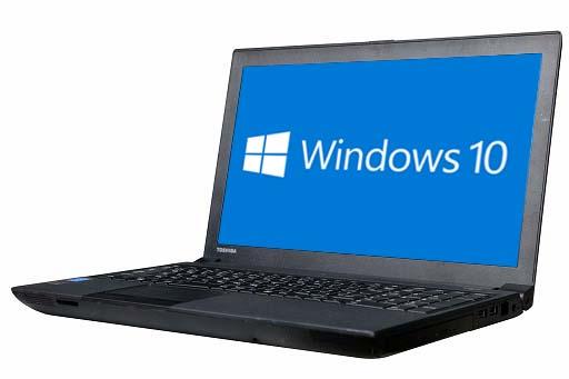 【中古パソコン】【Windows10 64bit搭載】【テンキー付】【Core i3 4100M搭載】【メモリー4GB搭載】【HDD320GB搭載】【W-LAN搭載】【DVDマルチ搭載】 東芝 Dynabook Satellite B554/M (1600100)