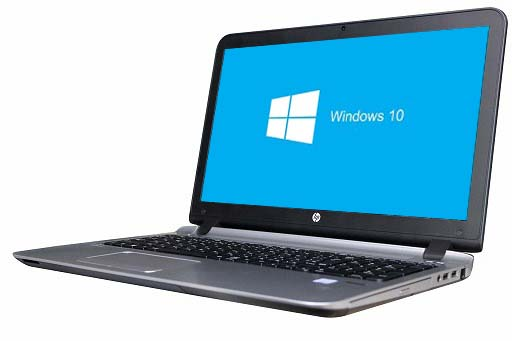 【中古パソコン】【Windows10 64bit搭載】【webカメラ搭載】【HDMI端子搭載】【テンキー付】【Core i3 6100搭載】【メモリー4GB搭載】【HDD500GB搭載】【W-LAN搭載】【DVD-ROM搭載】 HP ProBook 450 G3 (1800535)