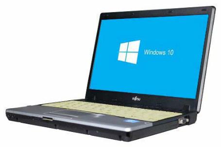 【中古パソコン】☆【Windows10 64bit搭載】【Core i5 3320M搭載】【メモリー4GB搭載】【HDD320GB搭載】【W-LAN搭載】【DVDマルチ搭載】【下北沢店発】 富士通 FMV-LIFEBOOK P772/F (4011273)