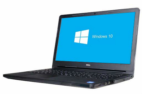 【中古パソコン】☆【Windows10 64bit搭載】【webカメラ搭載】【HDMI端子搭載】【テンキー付】【Core i3 6006U搭載】【メモリー4GB搭載】【HDD500GB搭載】【W-LAN搭載】【DVDマルチ搭載】【下北沢店発】 DELL INSPIRON 15 (4011305)