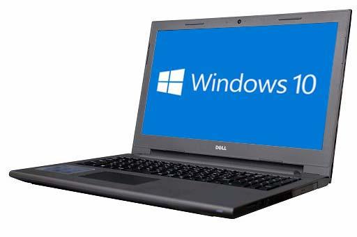テンキー メモリー4GB HDD320GB ノートパソコン【中古】【30日保証】2057226 15 無線LAN A4サイズ 【ブラックフライデー特別価格】DELL WEBカメラ VOSTRO DVDマルチ Windows10 64bit