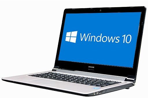DVDマルチ メモリー4GB 64bit ノートパソコン【中古】【30日保証】5021012 COMPUTER HDD500GB HDMI LB-B422BN Windows10 無線LAN 【あす楽対応】MOUSE A4サイズ