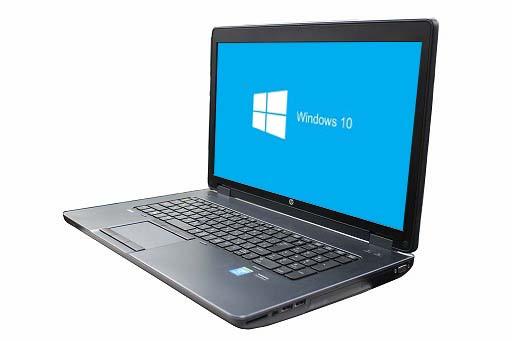 【中古パソコン】【Windows10 64bit搭載】【テンキー付】【グラフィックボード Quadro K3100M搭載】【Core i7 4700MQ搭載】【メモリー8GB搭載】【HDD1TB+HDD1TB】【W-LAN搭載】【DVDマルチ搭載】 HP ZBOOK 17 Mobile Workstation (1800201)