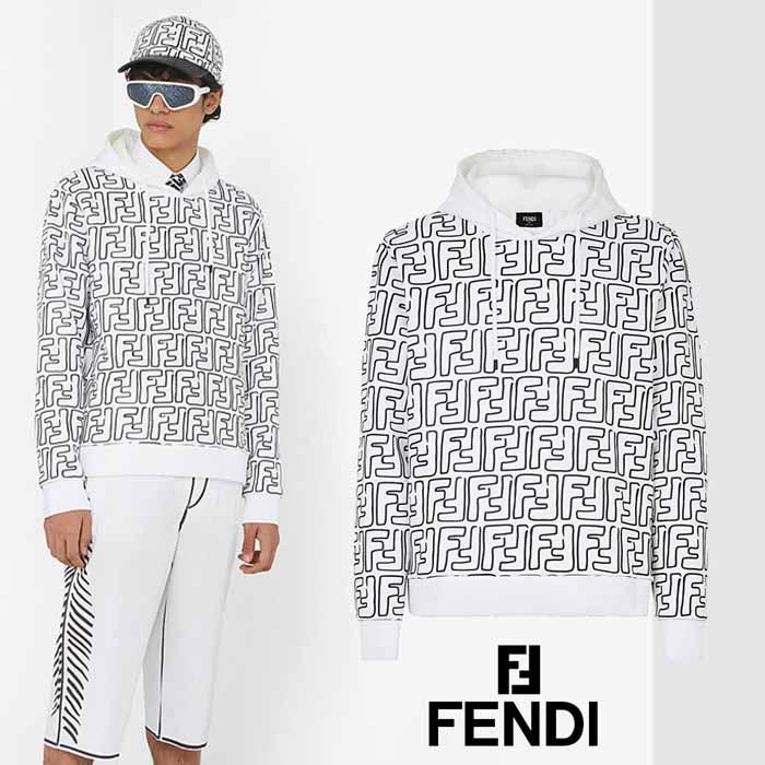 フェンディ FEND×IJoshua Vides カリフォルニア スカイ FFロゴ フーディ