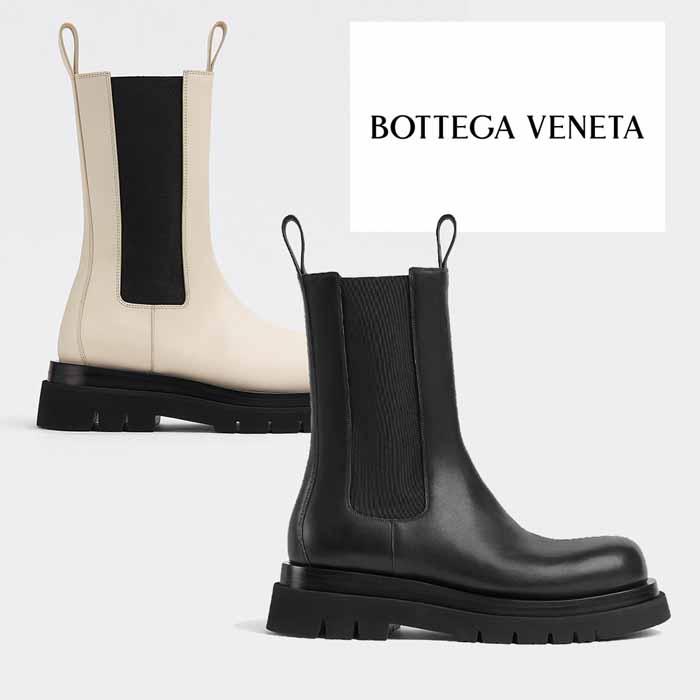 送料無料 ※アウトレット品 ボッテガヴェネタ BOTTEGA VENETA ラグ 出色 ザ ブーツ