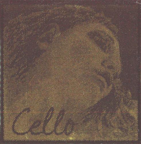 エヴァ・ピラッツィゴールド 4/4 チェロ弦セット