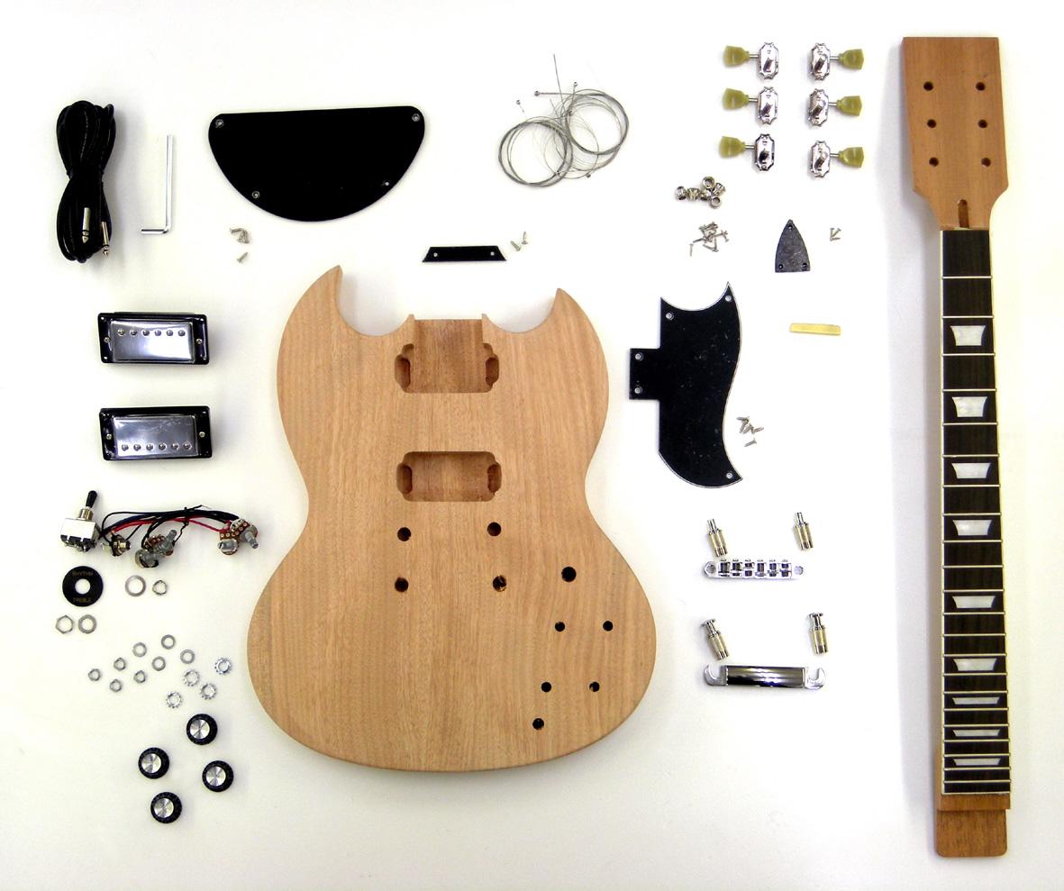 ■SGタイプ エレキギターキット ER-KIT-SG