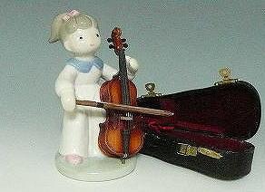 春の新作続々 安い 激安 プチプラ 高品質 こんなに小さくても本物と同じ細工に感動 ■ミニチュア楽器 チェロセット ちえこちゃん