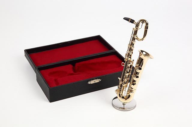 超定番 ミニチュア楽器 バリトンサックス 1 6サイズ 送料無料限定セール中