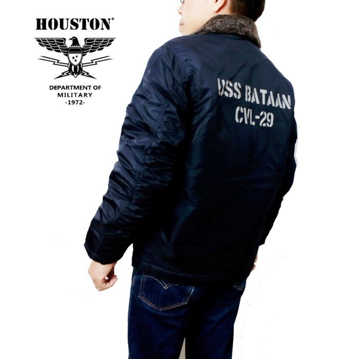 HOUSTON ジャケット ヒューストン N-1デッキジャケット ミリタリージャケット 防風ジャケット 50913d