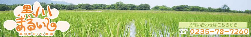 黒川まるいし農場:おいしいお米を農場より発送します