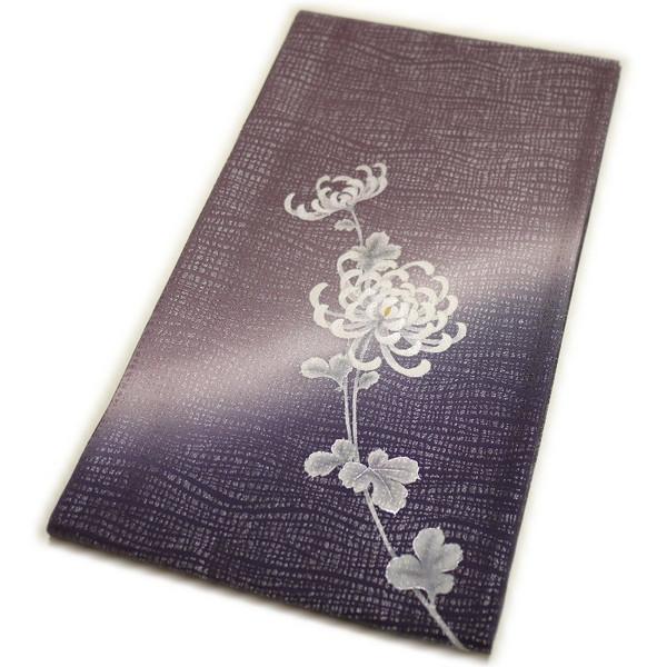 袋帯 仕立て上がり正絹袋帯(菊柄)礼装:フォーマル 日本製