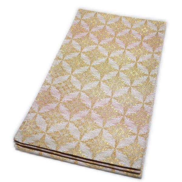 京都西陣織 仕立て上がり袋帯(有職文様:鳥襷)礼装:フォーマル 日本製