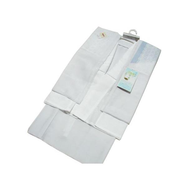 セール SALE 日本製 二部式長襦袢 ベンベルグ高級壁絽(うそつきレース袖・居敷当付き)半襦袢・裾除け・半衿付・衣紋ぬき付