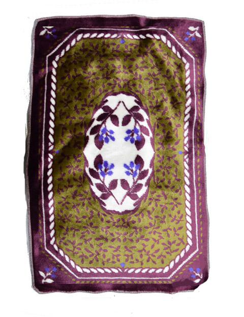 目の込んだジャガード織マットです 訳あり 限定品 難物 小 ジャガード織マット