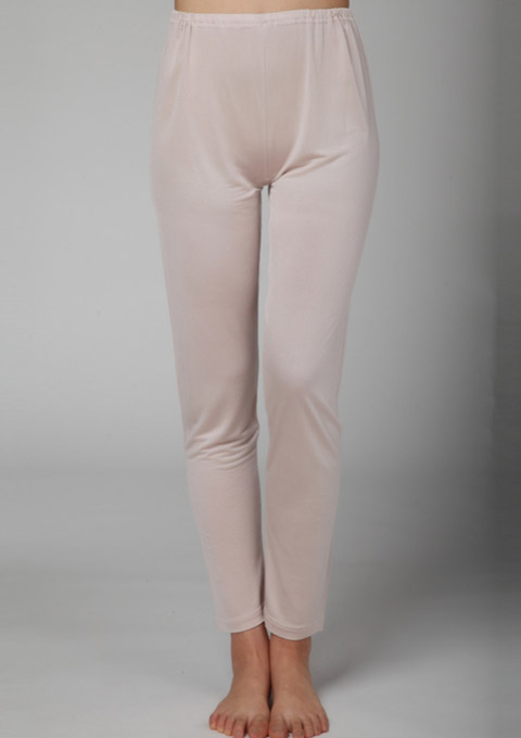 シルク100% ズボン下 レディース 婦人用 シルク下着 冷え取り 敏感肌 絹 インナー silk アトピー シルクパンツ アンダーパンツ シルク パンツ