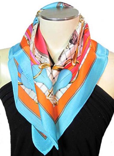 スカーフ シルク レディース シルク100% 絹 プレゼント 超安い 紫外線対策 アニマル プチ シルクスカーフ 馬柄 海外限定 UVカット