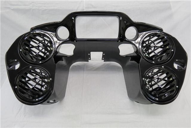 Harley ダビッドソン Road Glide FLTRX CVO Ultra 2015- インナーフェアリング 4スピーカー オーディオ 6.5