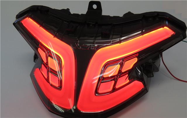 PCX 125 150 2018- jf81 kf30 カスタム LEDテールウインカー内蔵 スモーク