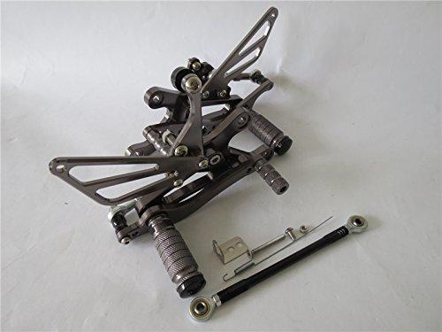 ヤマハ YZF-R1 1998-2003年 調整式 バックステップCNC 灰