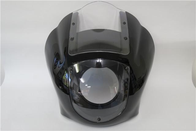 harley フェアリング Sportster XL 883 1200 1988-2017 クリア