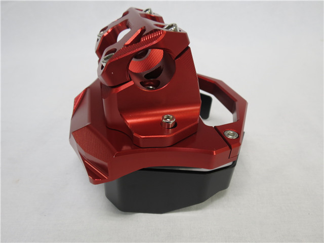 XMAX x-max xmax カスタム ハンドルポスト 赤