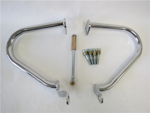 バイク 部品 パーツ スクーター 格安 [並行輸入品] TRIUMPH 商品追加値下げ在庫復活 BONNEVILLE T900 10-16年エンジンガード ボンネビ T100 メッキ a42