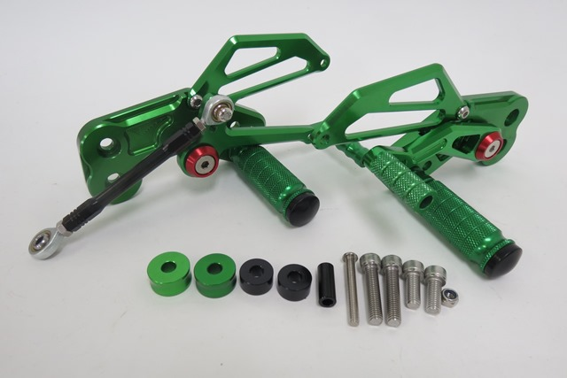 z125pro Z125PRO CNC 調整式 バックステップ B 緑