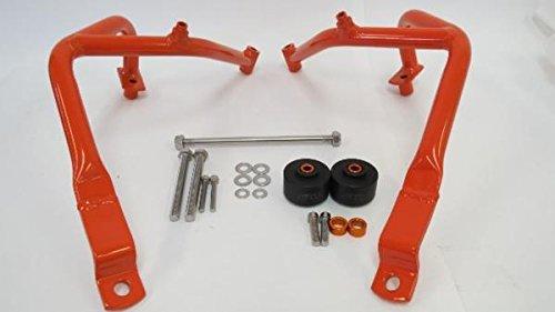 KTM 390 デュークduke 12-15年 エンジンガード 橙