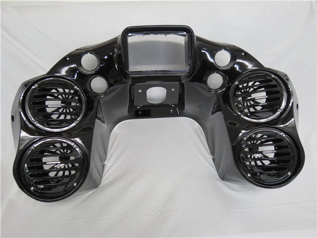 Harley Road Glide FLTR FLTRX 1998~2013 インナーフェアリング 4スピーカー オーディオ 6X9