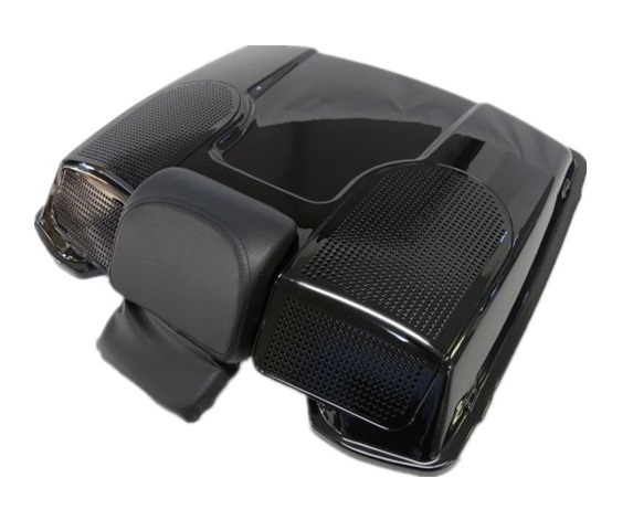 harley ツーリング 1993-2013 ツアーパック スピーカー蓋 リッドオーディオ 6X9