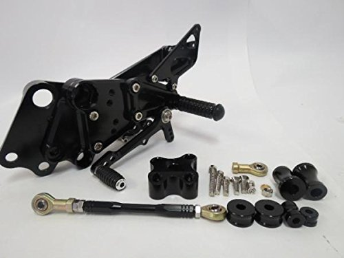 KTM 125 200 390 デューク duke 12-15年 バックステップ CNC 黒
