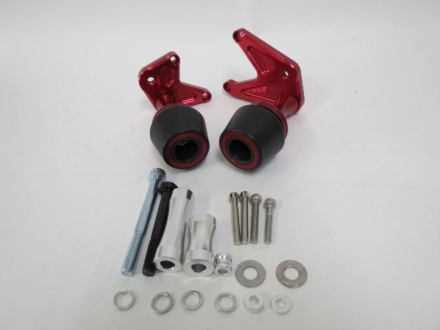 CBR650F CB650F CNC加工 エンジンスライダー 赤