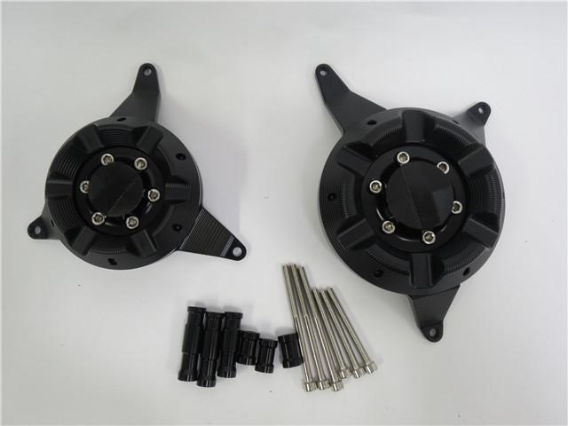 Z650 ABS 2017~Ninja 650 ABS 2017~ エンジンスライダー プロテクターセット 黒
