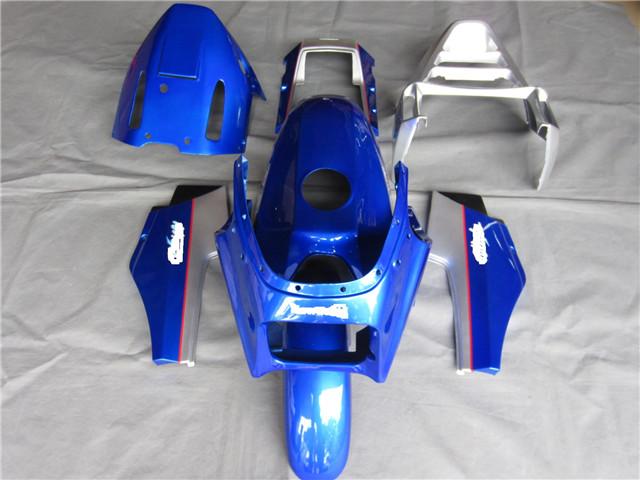 ※代引不可※Ninja gpz900r gpz750r 用 フルキット 外装セット 青